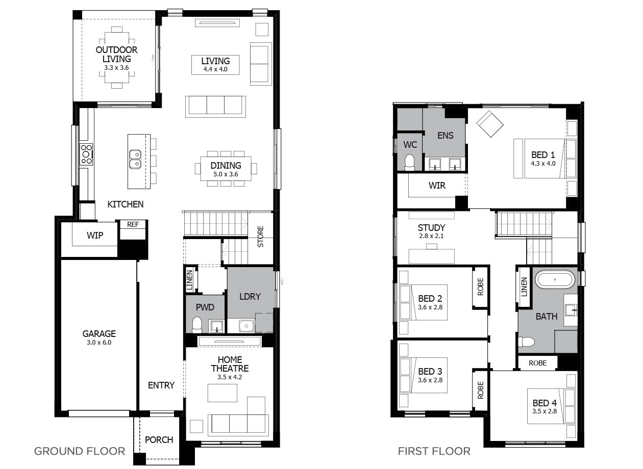 Encore 26-Double Storey House Design-4 Bedroom