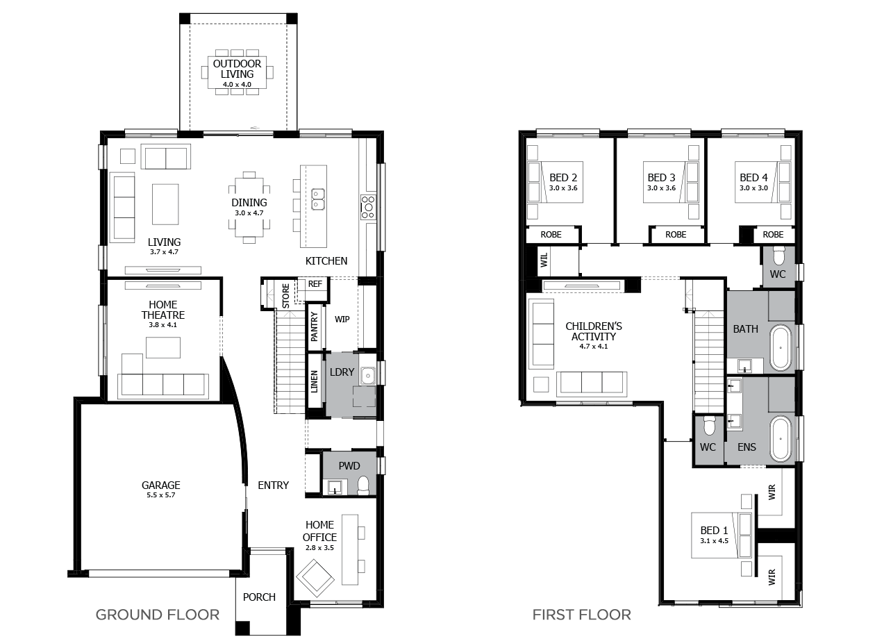 Enigma 32-Double Storey House Design-4 Bedroom