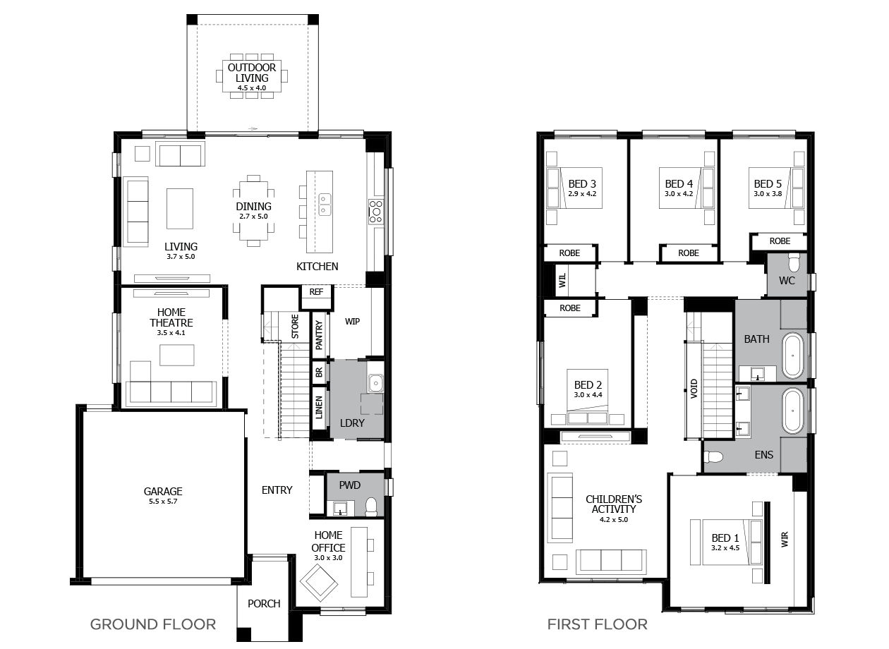 Enigma 35-Double Storey House Design-5 Bedroom