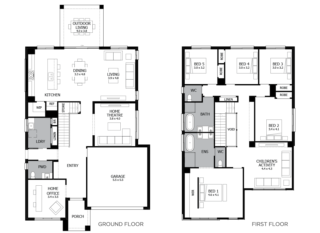 Enigma 36-Double Storey House Design-5 Bedroom