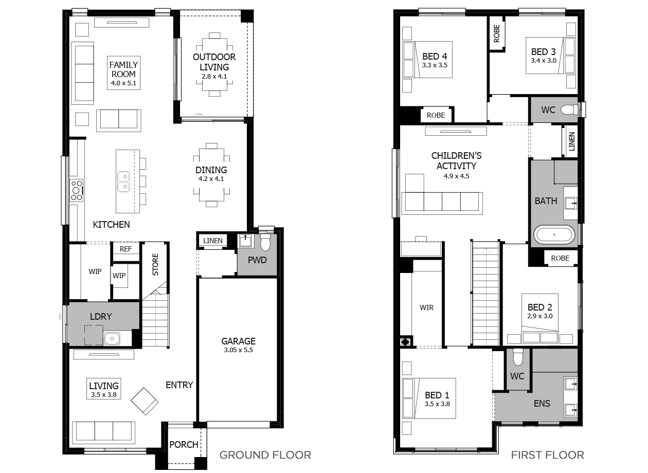 Escala 27-Double Storey House Design-4 Bedroom