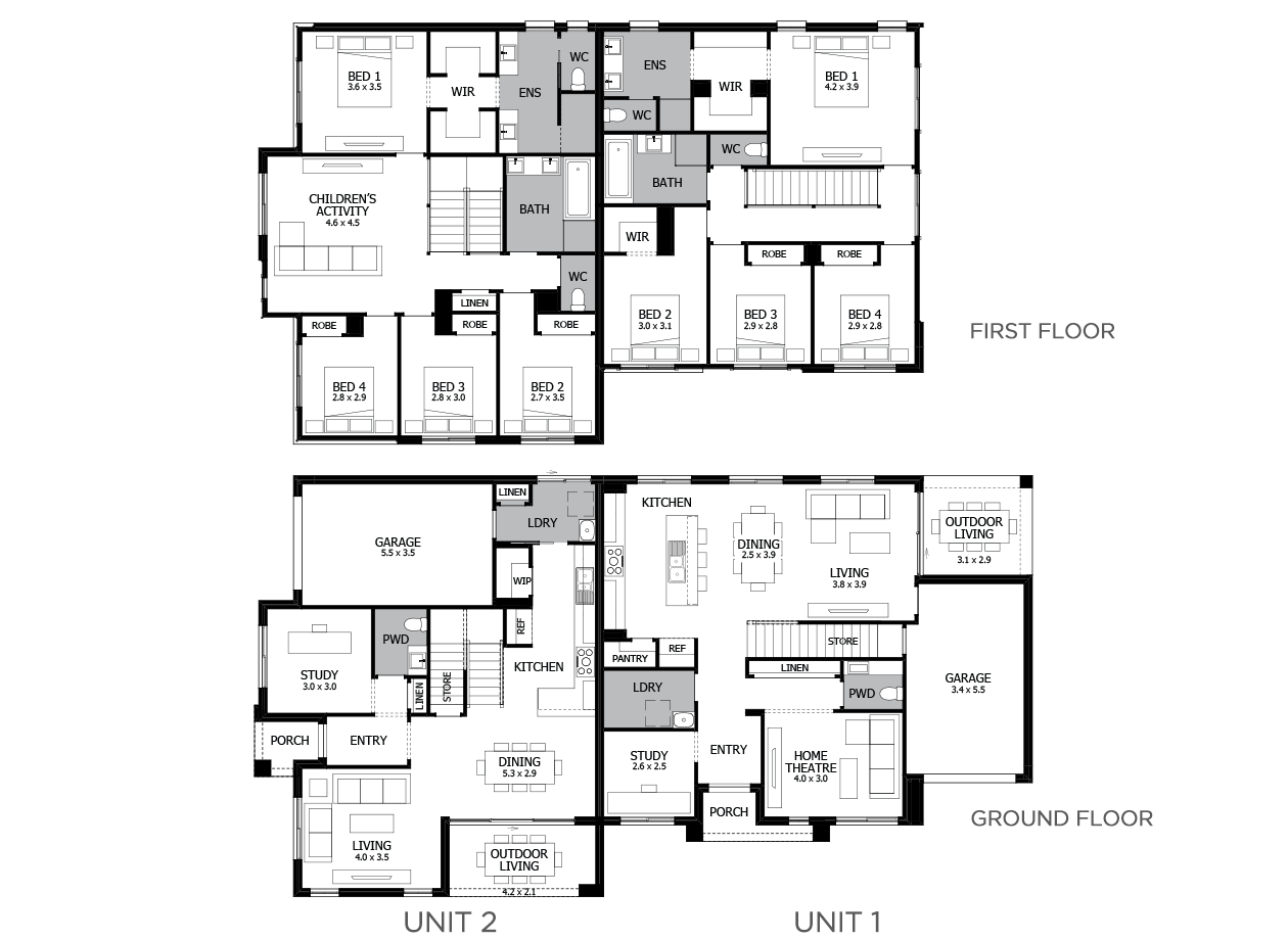 Hickson-Duplex house plan
