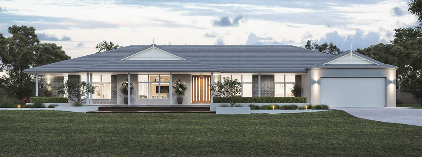 Karri Valley 44-Acreage House Design-Retreat facade