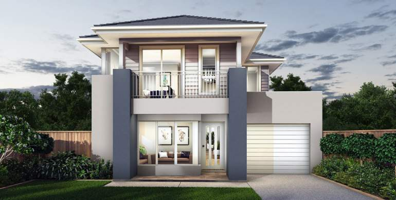 Encore 28-Double Storey house design-Coastal Hamptons