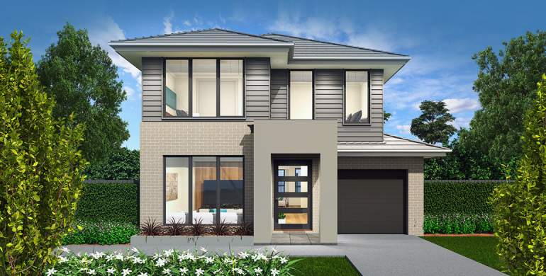 Encore Double Storey House Design-Modern Facade