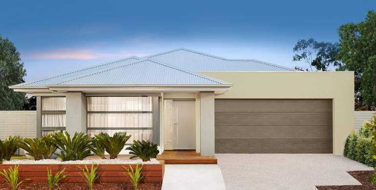 Jazz18-Canvas Facade-Single Storey Home Design