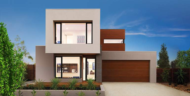 Nova Double Storey House Design- Luxe Facade