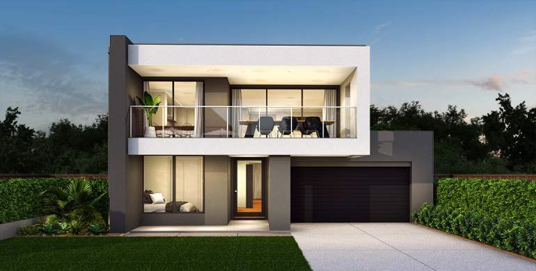 Seabreeze Double Storey House Design With 4 Bedrooms Mojo Homes