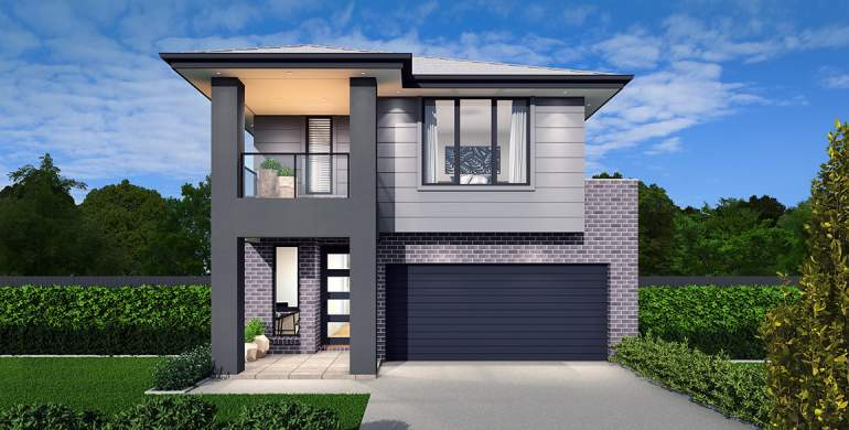 Tivoli 27 Home Design-Modern with balcony facade