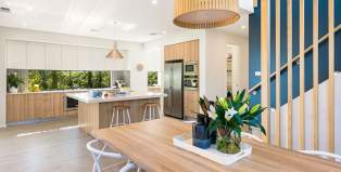 Nova 32-Double Storey House Design-Dining Kitchen