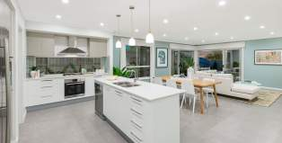 Rumba 24-Single Storey home Design-Kitchen Dining
