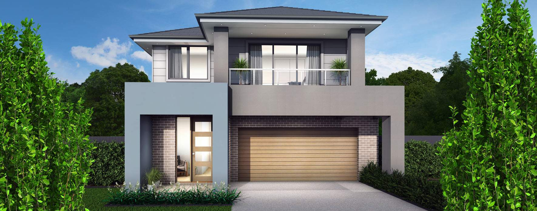 Applause Narrow Block House Design With 4 Bedrooms Mojo Homes