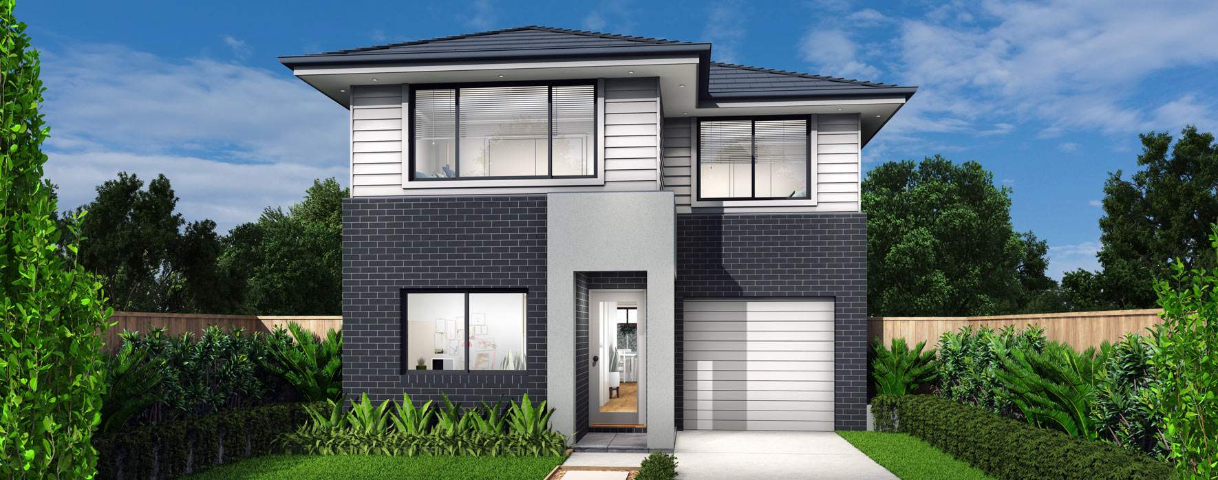 Bondi Double Storey House Design With 4 Bedrooms Mojo Homes