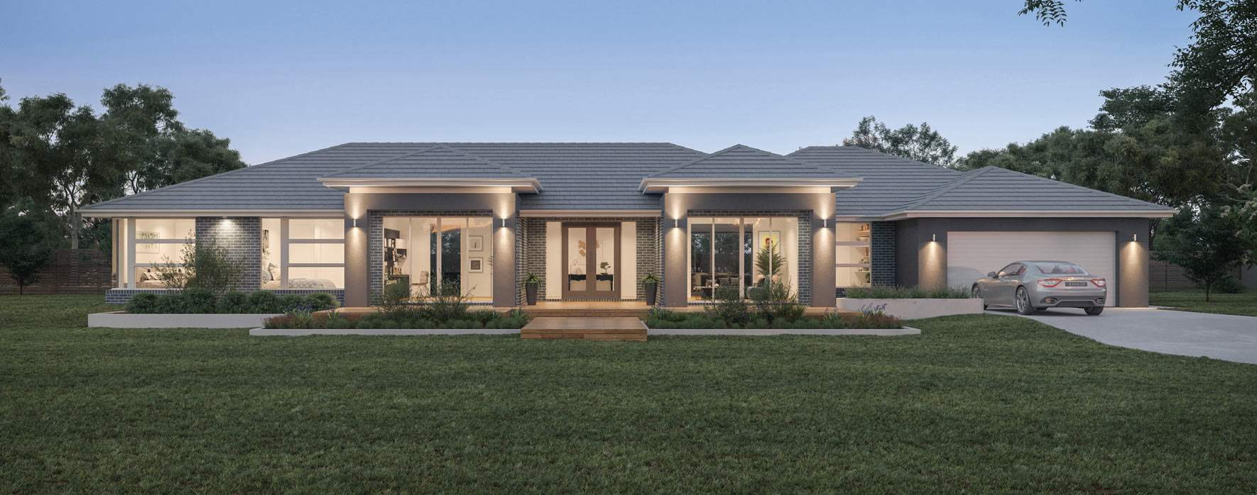 Locksley 41-Acreage House Design-Grange facade