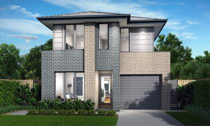 Bundeena Double Storey House Design-Newport Facade