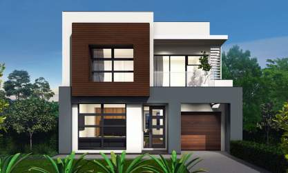 Encore 26-Double storey house design-Sheike facade