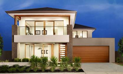 Melody Double Storey House Design- Grande Facade