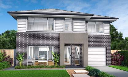 Narrabeen Double Storey House Design- Modern Facade