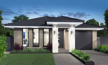 Leura 16-Single storey design-Mona facade