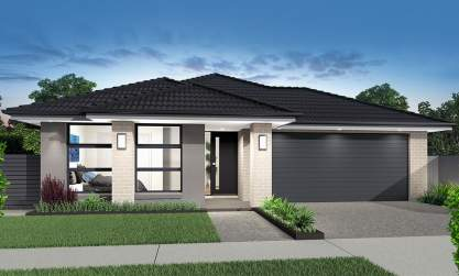 Bolero-Single storey house design-Accent facade