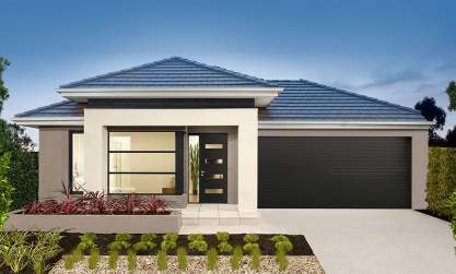 Small Lot-Single storey-Double garage-Viva facade