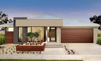 Soho-Single storey house design-Sonata facade