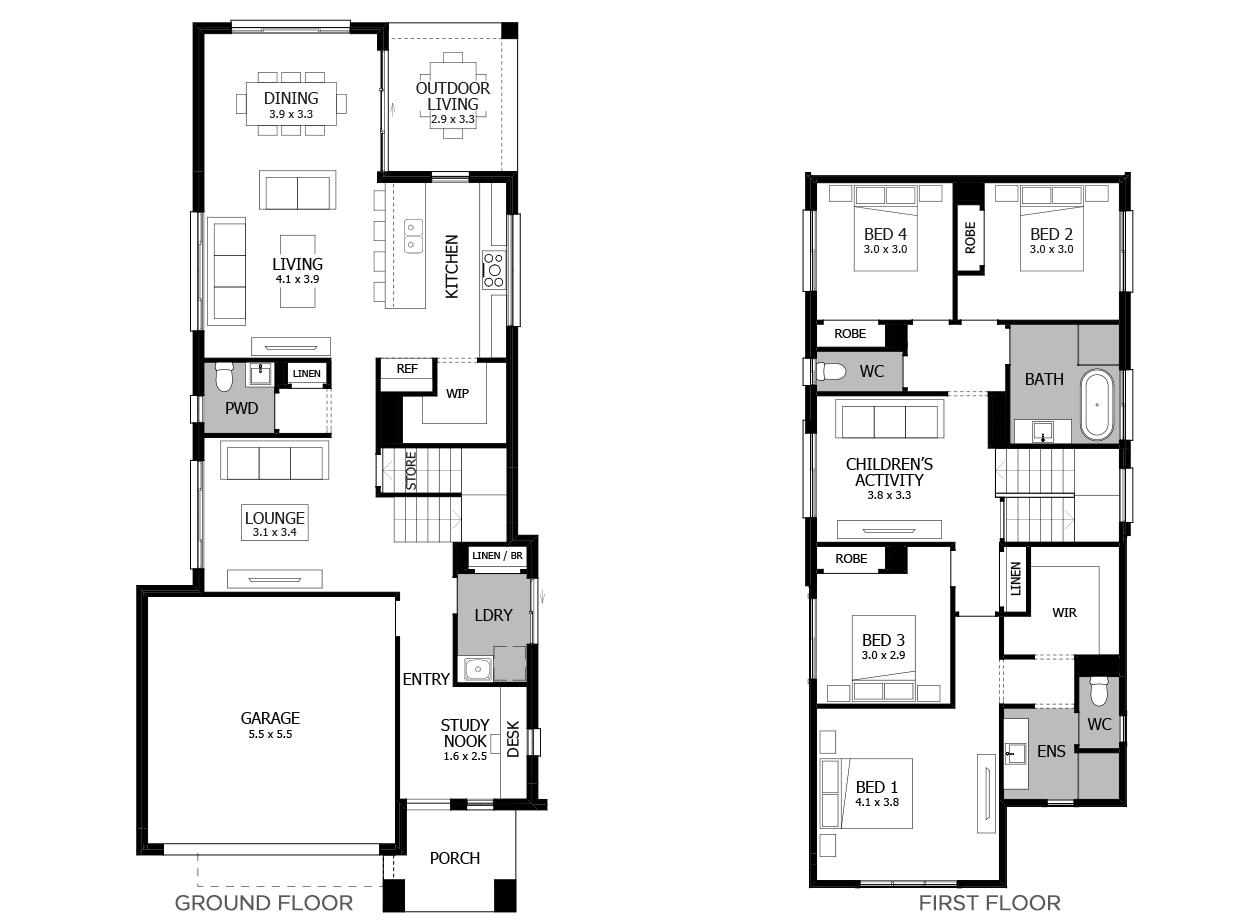 Tivoli 27-Double Storey House Design-4 Bedroom